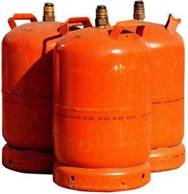 Acuerdo multilateral M 269 marcado de los números UN en botellas para gases licuados del petróleo (GLP).